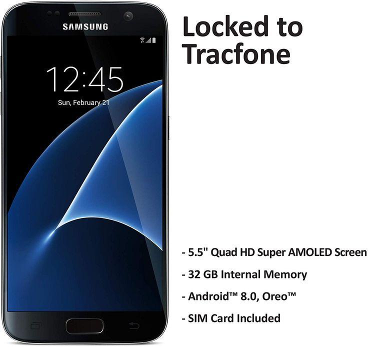 Tracfone samsung galaxy s7 4g lte prepaid smartphone