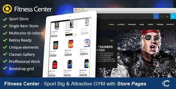 Discount Deals Fitness Center Premium Retina PSD today price drop and special promotion. Get The best buy