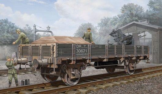 Trumpeter 01518 German Railway Gondola