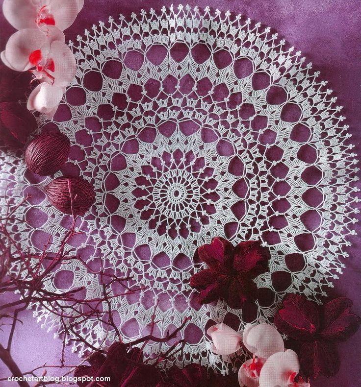 Crochet Doily - Free Crochet Pattern