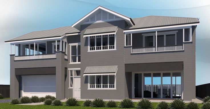 Design for a new traditional home in Hendra.