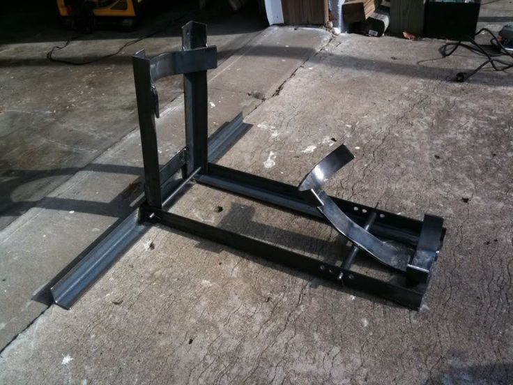 Workshop addict woodworking metal fabrication diy for Fabrication stand