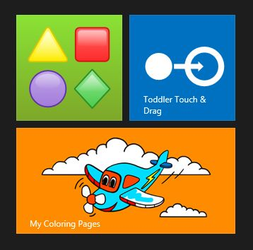 Windows 8 apps for preschoolers