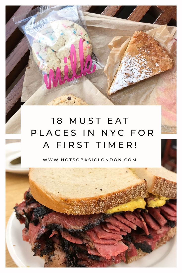 18 Must Eat Places in NYC For A First Timer