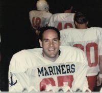 Jerry Gladstone in his Brooklyn Mariners gear. http://www.JerryGladstone.com