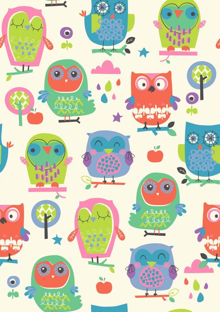 Ilustrações para quadros infantis - A Mãe Coruja Genine Delahaye