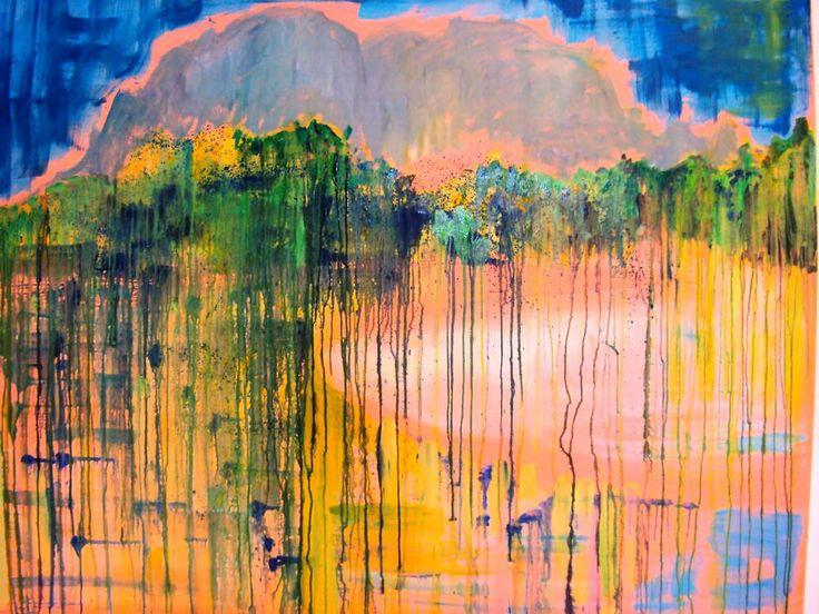 Peinture de grand format, l'œuvre de Peter Doig s'inspire des Romantiques allemands, du symbolisme de Munch ou du naturalisme d'Edward Hopper.
