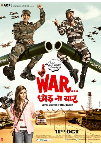 War Chhod Na Yaar first day (prediction) collection report War Chhod Na Yaar is the first Bollywood movie based on War comedy genre. War Chhod Na Yaar will hit the cinemas on Friday 11th October,2013. The movie features Sharman Joshi, Soha Ali Khan and Javed Jafferi in the leading roles. The movie is directed by Faraz Haider. The  director is making his debut in Bollywood with this movie. Story | Plot War Chhod Na Yaar is the war comedy. The […]