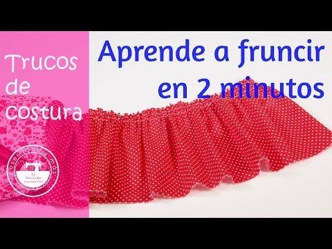 Trucos de costura: cómo fruncir en 2 minutos | Manualidades