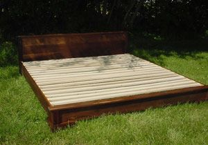 The Guest Bed In American Cherry Or Walnut