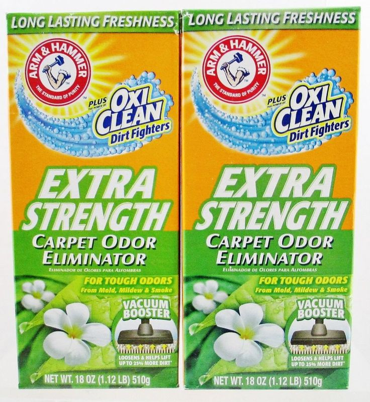 Arm Hammer Extra Strength Carpet Odor Eliminator Plus Clean Dirt Fighters 2 Boxe #ArmHammer #Custom