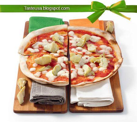 Artichoke Pizza pizza ai carciofi recipe