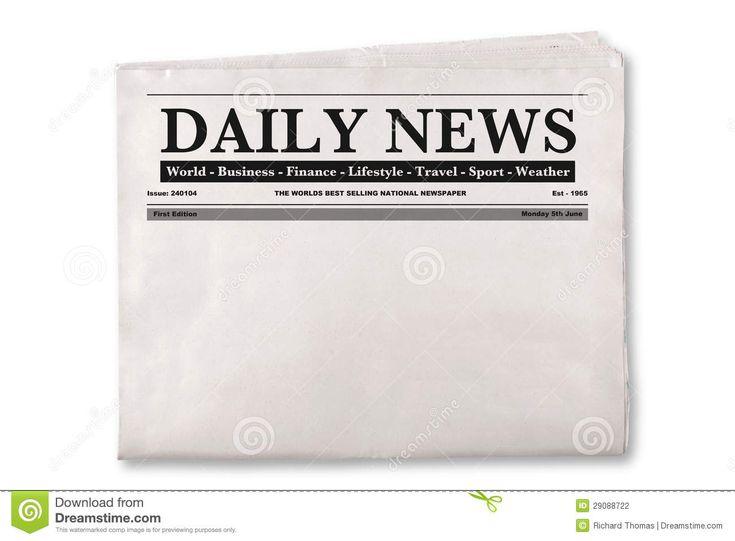 Printable Newspaper Headline Clipart  Google Search  Printable