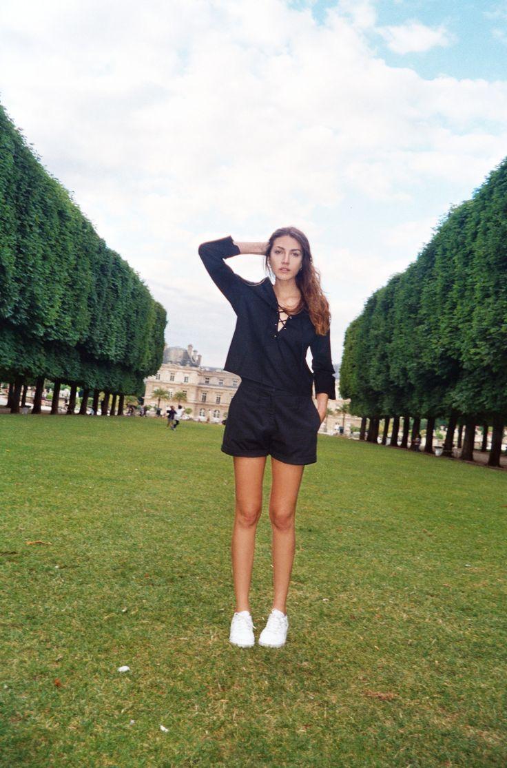 Photo: Juliet Alzua Model: Lucia Pedraza Location: Jardin du Luxembourg / Saint Germain / Paris www.matinstudio.com