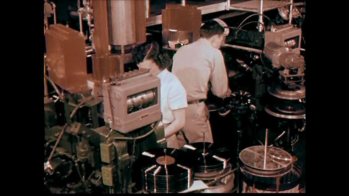 Screenshot from The Wall of Sound..A Documentary about Vinyl Records