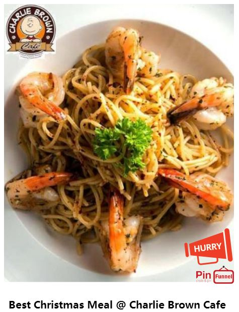Best Christmas day meal and best deal 2017 at Charlie Brown Cafe in Cineleisure Orchard mall, Singapore. Choose from over 70 choices of Halal certified food and beverages. Check out now.