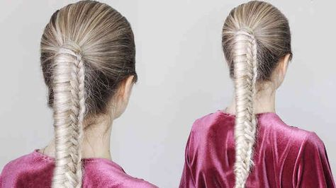 Alex Gaboury - Chinese Staircase Braid Ponytail