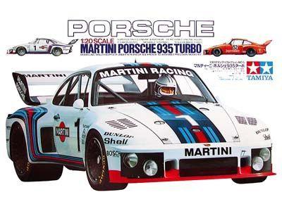 Boxart Porsche 935 Turbo 20005 Tamiya