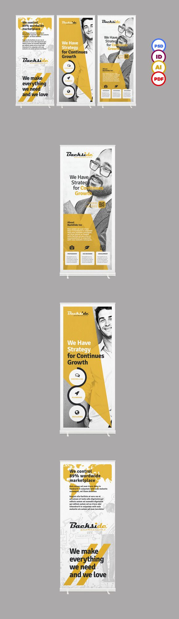 Roll up Banner ~ Flyer Templates on Creative Market