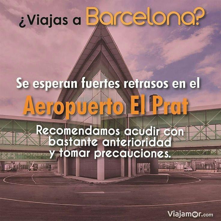 Debido a problemas internos el personal del aeropuerto El Prat de #barcelona entrará en huelga escalonada desde mañana viernes. Esto afectará los vuelos y todo el funcionamiento por lo que queremos advertir a todos los viajeros.  #españa #viajes #elprat #noticias #turismo #VenezolanosEnEspaña #VenezolanosEnMadrid