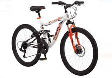 "Boys Mountain Bike Mongoose 24"" Trail Blazer Bicycle 21 Speed Full Suspension http://ift.tt/2GILQxd"