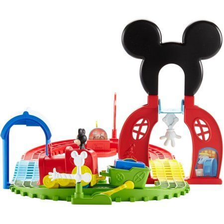 Fisher-Price Disney Mickey Mouse Clubhouse Mouska Train Express Playset, Multicolor