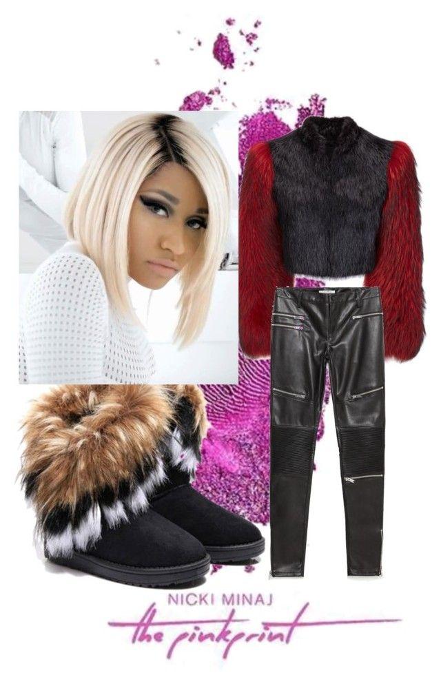"""Pink print tour"" by mldavis1015 on Polyvore featuring Nicki Minaj and Zara"