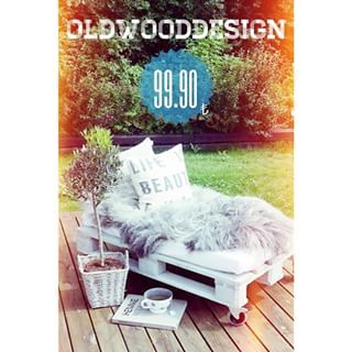 Instagram photo by oldwooddesign - Palet Puf 105x55cm Kirik Beyaz Tonda #palet #pallet #beyaz #white #puf #keyif #bahce #dekor #design #oldwooddesign #tasarim #retro #vintage #garden #tahta #agac #dogal #natural #ahsap #cute #diy #elyapimi #deko #decore #home #ev #evlilik #wedding #ask