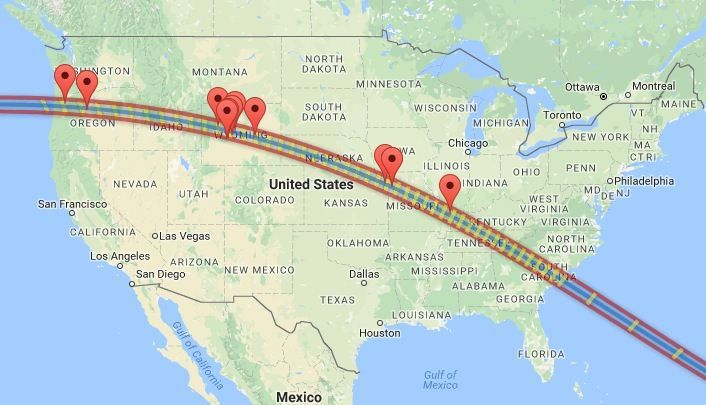 Want to see the 2017 total solar eclipse? You better start planning now.