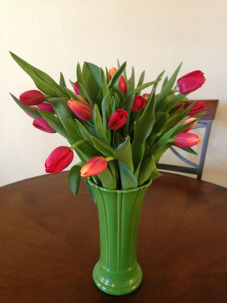 A Vase Full Of Fresh Flowers Is Always A Good Idea For A Valentines