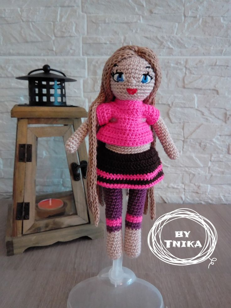 Crochet doll MOLLIE, doll by Tnika
