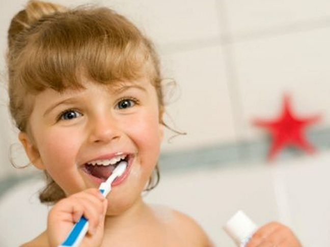 To reduce the risk of cavities, parents should give an advice to their kids on oral hygiene regularly.  #dentalhealth #kidsteeth #oralhealth