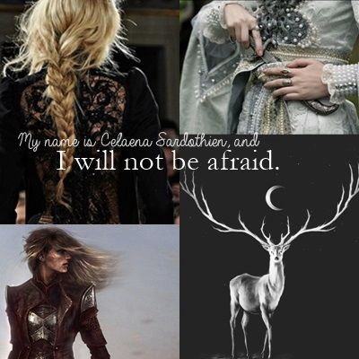 Celeana from Throne Of Glass by Sarah J Maas