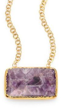 Nest Amethyst Pendant Necklace