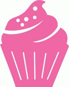 Silhouette Design Store - View Design #63232: cupcake