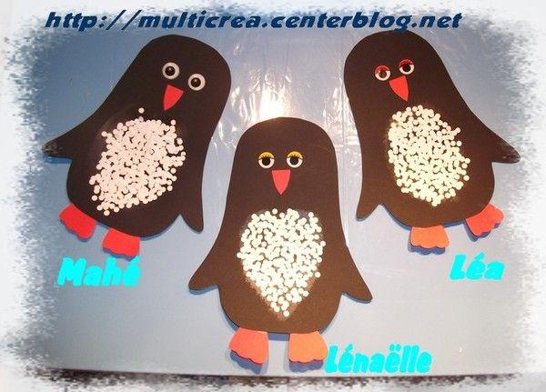 Knutselen 2d: pinguin