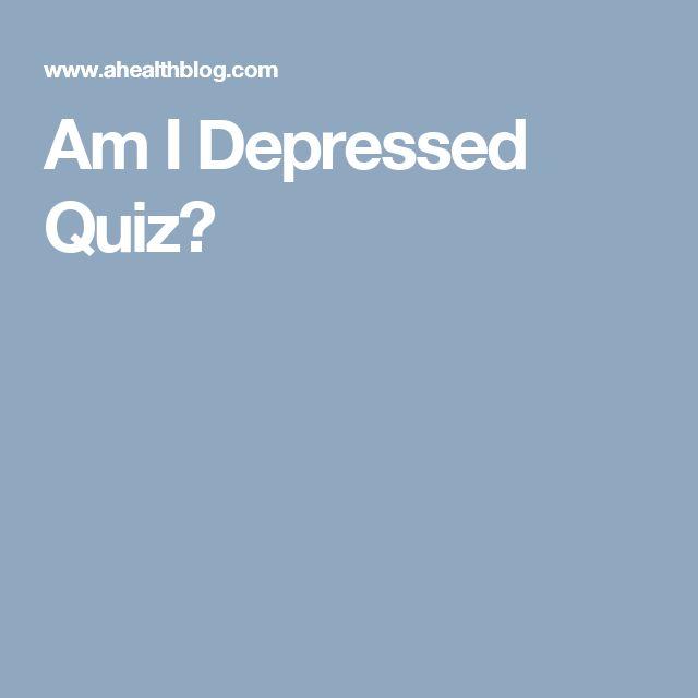 Am I Depressed Quiz?
