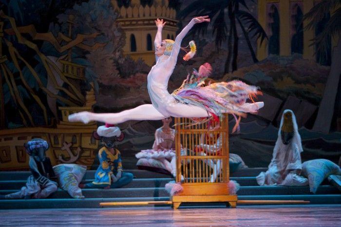 Pacific Northwest Ballet soloist Lindsi Dec as Peacock in PNB's Stowell/Sendak Nutcracker