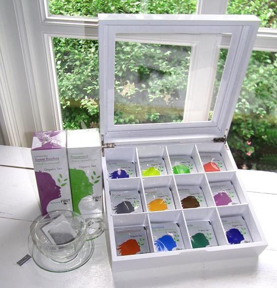 Original first tea basic line tea box!