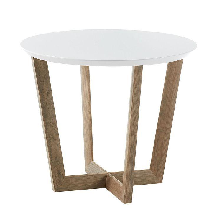 Beistelltisch Limmared Matt Weiss Eiche Morteens Jetzt Bestellen Unter Moe Beistelltisch Tisch Beistelltische