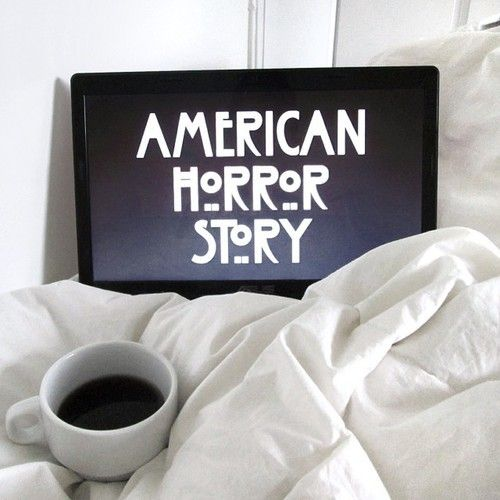 American horror story some coffee http itsfrenchben for American horror story wall mural