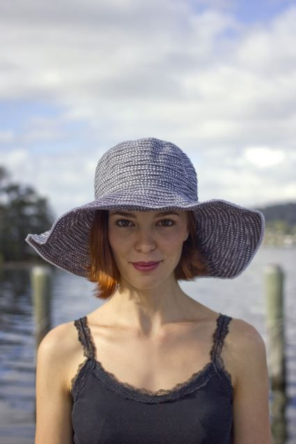 The versatile Scrunchie hat #fashion #style