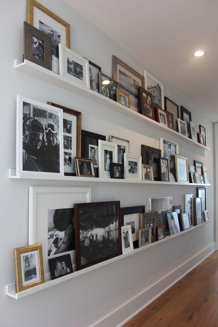 Diy Picture Rail Best Photo Shelf Ideas