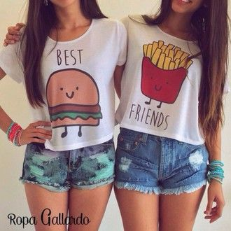shirt tumblr hipster best friends grunge boho kawaii cute