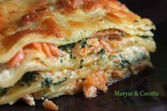 Lasagnes aux deux saumons et mascarpone                                                                                                                                                     Plus