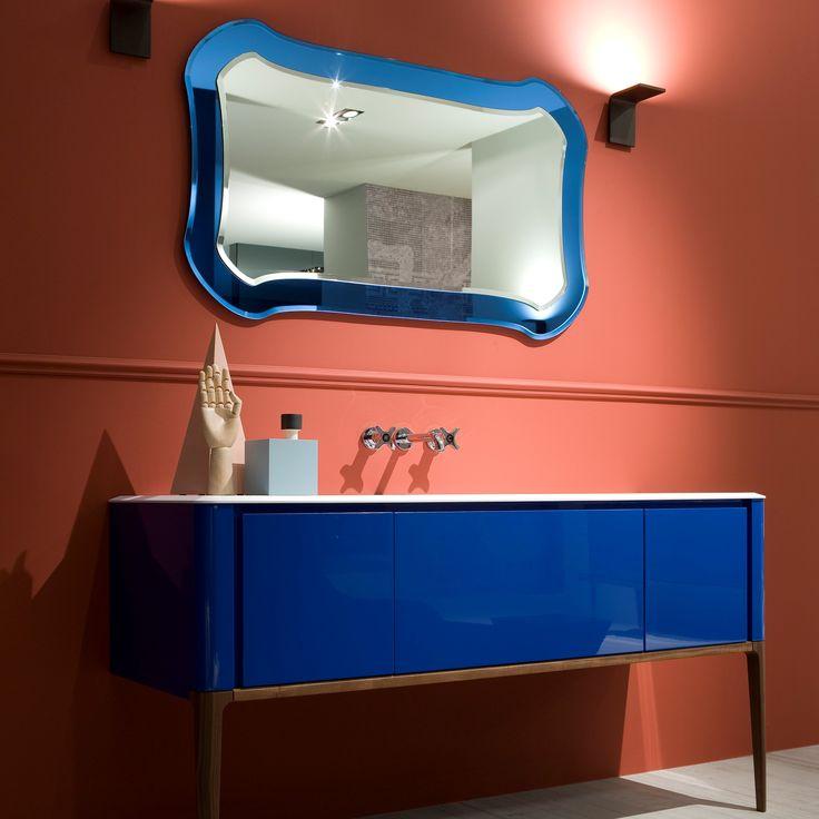 Antoniolupi, Italian design and extraordinary union of blue color ... Antoniolupi, İtalyan tasarımı ve mavi rengin olağanüstü birleşimi...