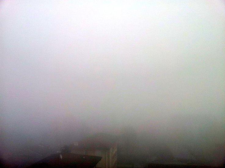 Buongiorno Milano! - Good morning Milan! #nebbiainvalpadana #nebbia #Milano #fog #Milan