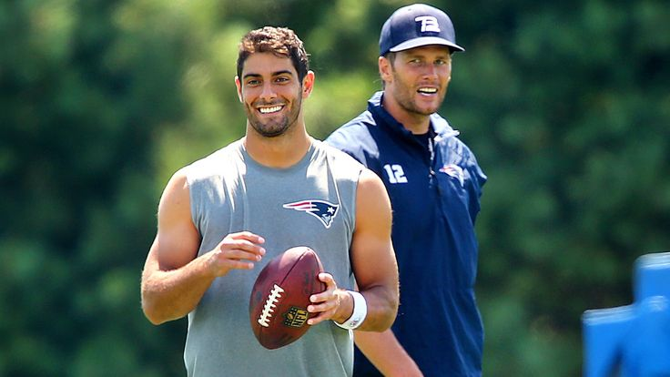 Jimmy Garoppolo says practice is a 'smoother operation' without Tom Brady | FOX…