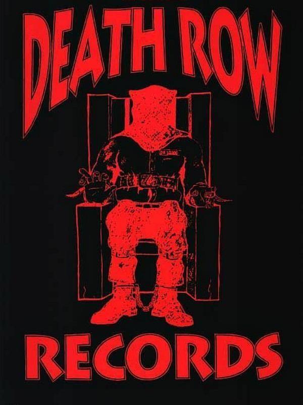death row records logo maxi poster 61cm x 915cm new