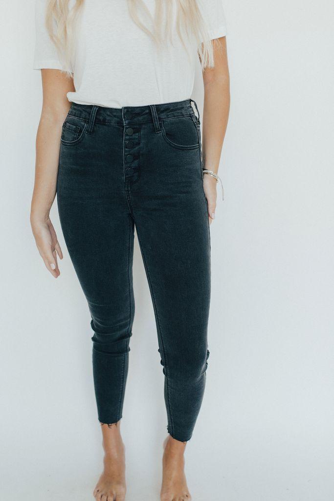 Danny Jeans Black Charcoal Wash Comfy Jeans Jeans Black Charcoal